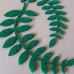 L106 --- 2 Ferns on felt
